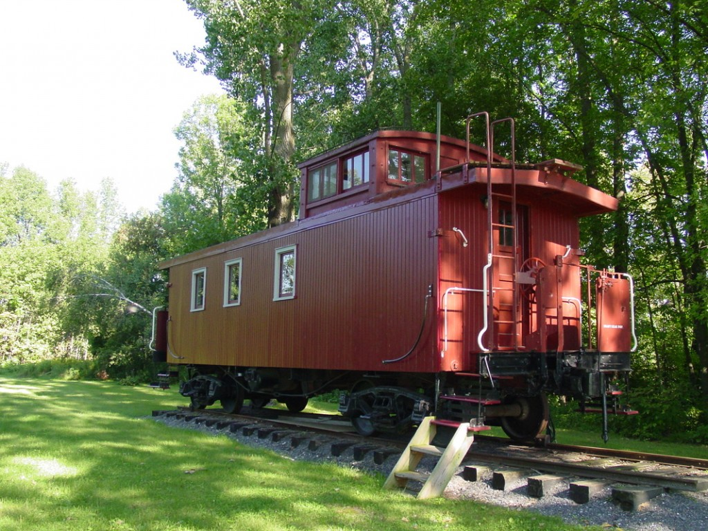 1910 Central Vermont Railway Caboose