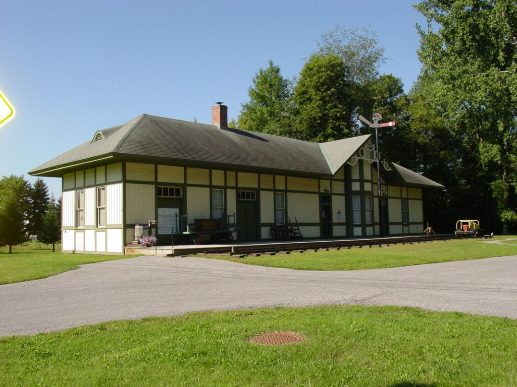 Swanton Historical Society and RR Depot Museum