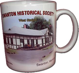 Swanton Historical Society Mug 1 Front
