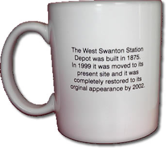Swanton Historical Society Mug 1 Back
